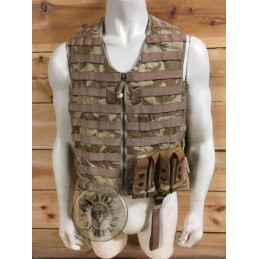 BRITISH ARMY TANK CREW VEST/USED CONDITION