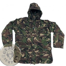 BRITISH ARMY CAMO DPM PARKAS USED