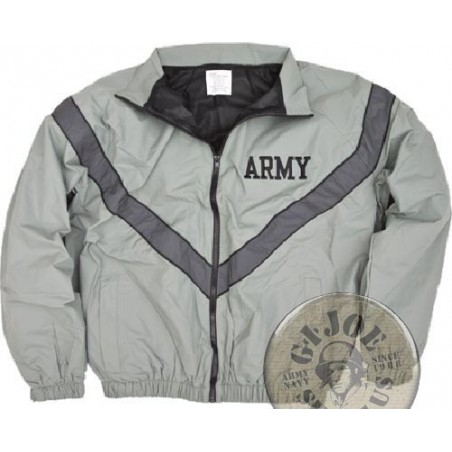 US ARMY PT UNIFORM JACKET USED CONDITION