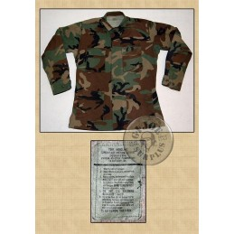 US ARMY BDU JACKET COTTON USED