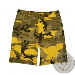 BDU CARGO SHORTS/YELLOW CAMO
