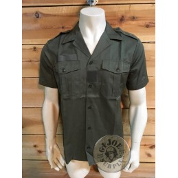 FRENCH ARMY OG S/S SHIRT USED