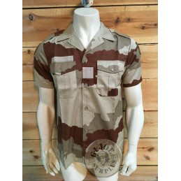 FRENCH ARMY CEE DESERT  CAMO UNIFORM BRAND NEW/SHORT SLEEVE SHIRT