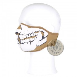 PROTECTION FACE MASK/SKULL NEOPREN