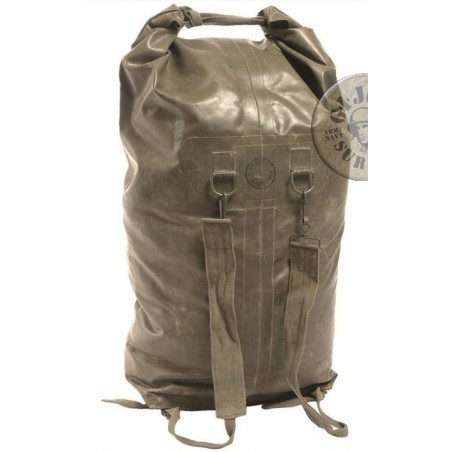 FRENCH ARMY WATERPROOF DUFFLE BAGS USED