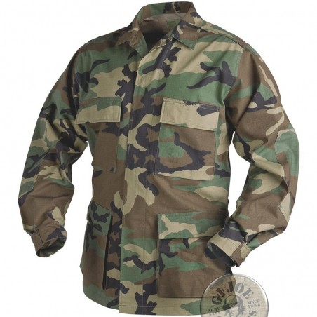 US ARMY BDU WOODLAND COTTON UNIFORM NEW/JAQUET