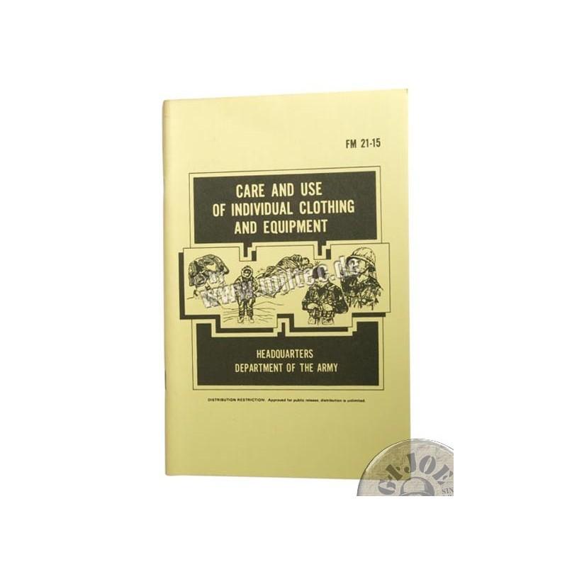 MANUAL DE USO y CUIDADO DE LA ROPA y EL EQUIPAMIENTO INDIVIDUAL DEL US ARMY 1985