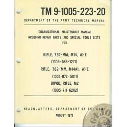 US ARMY MANUAL/VIETNAM 1972 M14
