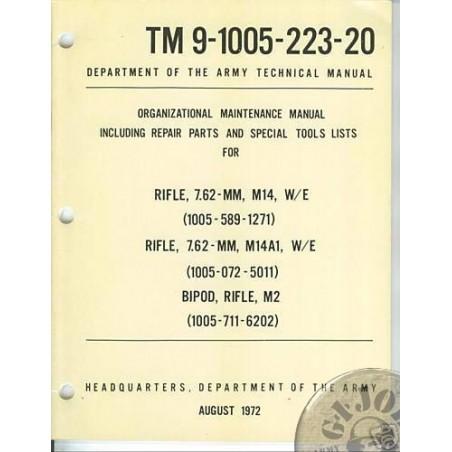MANUAL D´INSTRUCCIONS DEL FUSELL M14 VIETNAM NOUS