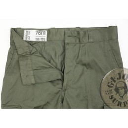 GREEN FRENCH TROUSERS