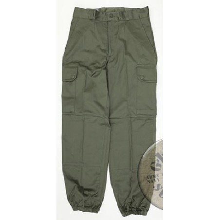 FRENCH ARMY F1 GREEN UNIFORM TROUSERS BRAND NEW CONDITION