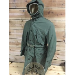 "VENDIDA!!!!PARKA ""M1947 OVERCOAT PARKA TYPE WITH PILE LINER"" VERDE ""US ARMY 1951"" NUEVA/PIEZA UNICA"
