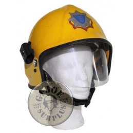 SCHONE FIREFIGHTERS HELMET USED