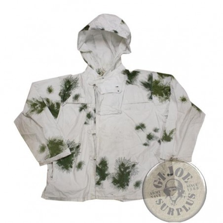 XGERMAN NAVY SNOW CAMO PARKA AS NEW