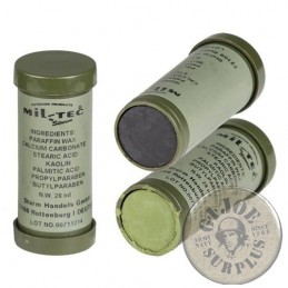 CAMO FACE PAINT /2 COLOURS TUBE BLACK-GREEN