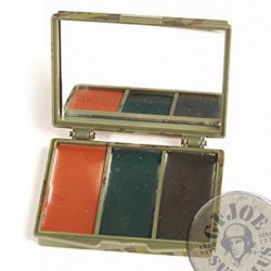 CAMO FACE PAINT /3 COLOURS BOX