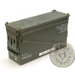 US ARMY METAL AMMO BOX /CM5