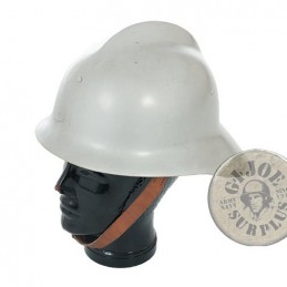 POLISH FIREFIGHTERS HELMET