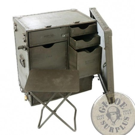 US MILITARY FIELD DESK USED CONDITION
