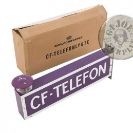 DANISH CIVIL PROTECTION TELEFON LIGHT