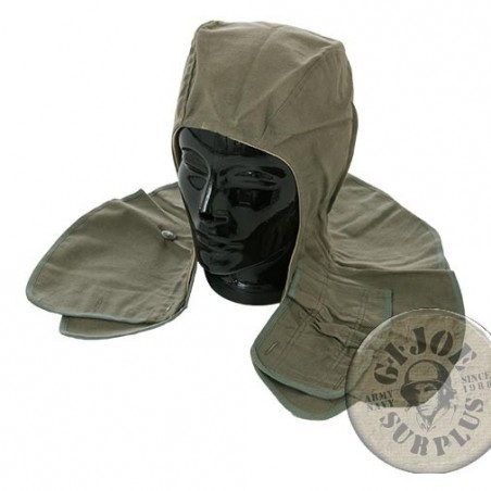 COLD AND COMBAT HOOD FROM CZECH ARMY NEW