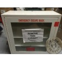 US MILITARY ESCAPA GS MASK CABINET FROM THE PENTAGON FACILITES