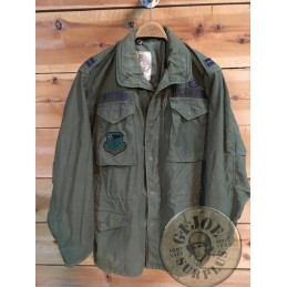 M65 JACKET OG USA AIR FORCE ALASKA