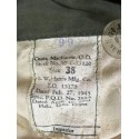 "CHAQUETA ""COAT MACKINAW SEGUNDO MODELO"" VERDE ""US ARMY 1945"" COMO NUEVO /PIEZA UNICA"
