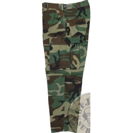 US ARMY BDU UNIFORM WOODLAND CAMO RIPSTOP NEW /TROUSERS