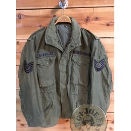 M65 JACKET OG USA AIR FORCE /COLLECTORS ITEM