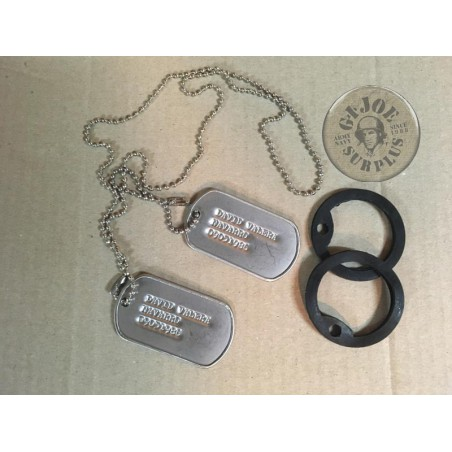 DOG TAG 3 LINES
