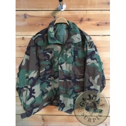 "CHAQUETA M65 US ARMY WOODLAND ""3ERD INFANTRY DIVISION""+FORRO/PIEZA UNICA"