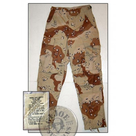 US ARMY BDU TROUSERS DESERT 6 COLORS CAMO NEW