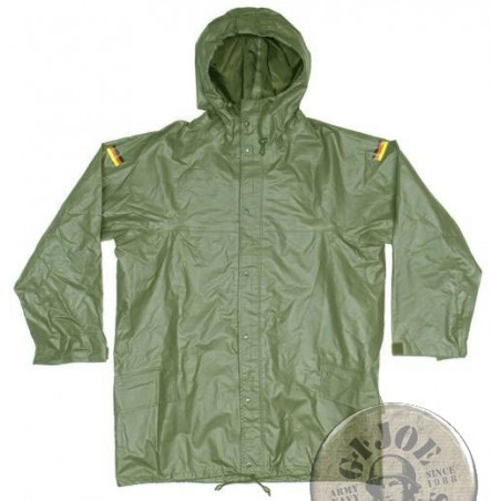"XGERMAN ARMY WATERPROOF ""ANTISTATICH"" PARKA GREEN NEW CONDITION"