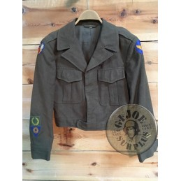 COLLECTORS ITEM /IKE JACKET USAAF 9TH AIR FORCE