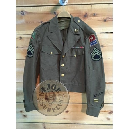 COLLECTORS ITEM /CUSTOMIZED IKE JACKET US ARMY PERSIAN GULF