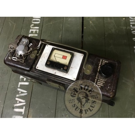 BATTERIES DEVICE CUSTOMIZED FROM A FIELD TELEPHONE /COLLECTORS ITEM