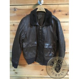 COLLECTION ITEM /US NAVY G1 LEATHER JACKET