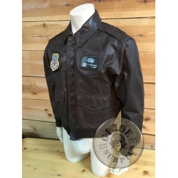 COLLECTION ITEM /US AIR FORCE A2 LEATHER JACKET
