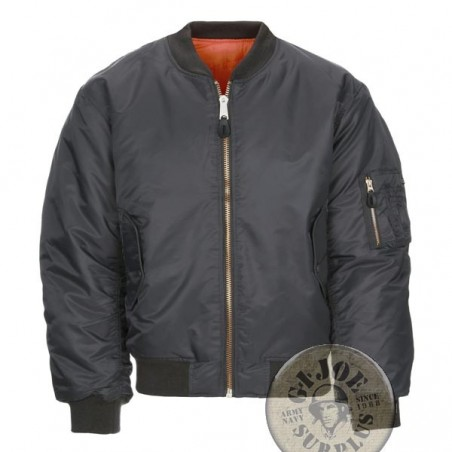 MA1 PILOT JACKET GREY COLOUR