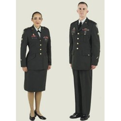 US ARMY GREEN UNIFORM /JACKETS WITH INSIGNIA