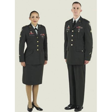 UNIFORME DE PASEO US ARMY GREEN CLASS A UNIFORM /CHAQUETAS TROPA CON PARCHES