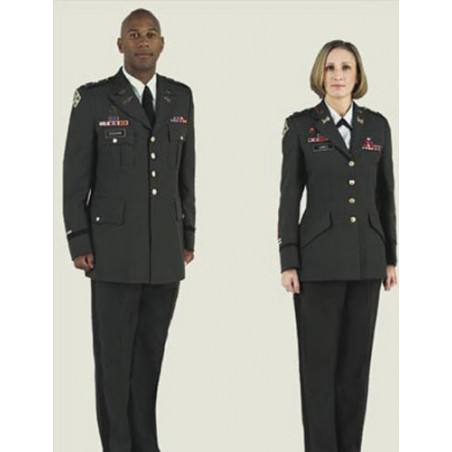 US ARMY OFFICERS GREEN CLASS A OFF DUTY JACKETS
