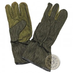 EAST GERMAN ARMY RAINDROP CAMO UNIFORM NEW /WINTER GLOVES