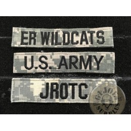 VELCRO PATCHES FOR THE ACU AT DIGITAL CAMO UNIFORM /TAB US ARMY,UNITS...