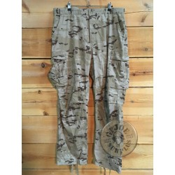 SPANISH ARMY DIGITAL DESERT CAMO UNIFORM USED /TROUSERS