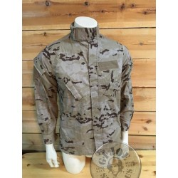 SPANISH ARMY DIGITAL DESERT CAMO UNIFORM USED /JAQUETES