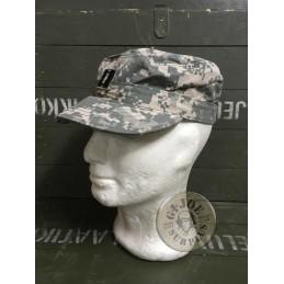 GORRA VISERA US ARMY ACU CAMO AT DIGITAL CON RANGOS USADAS