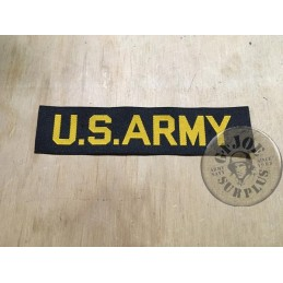 "PARCHE TAB PECHO ""US ARMY"" NEGRO"