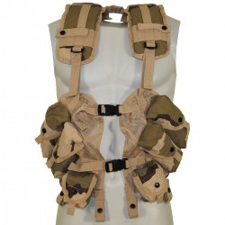 """CHALECO TACTICO """"LBV US ARMY"""" CAMO US ARMY DESERT 3 COLORES"""